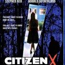 Citizen X Blu-Ray Based On The True Stoty Of Soviet Serial Killer
