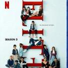 Elite 3 Season Blu-Ray Netflix TV Series Audio Spanish, with English subtitles