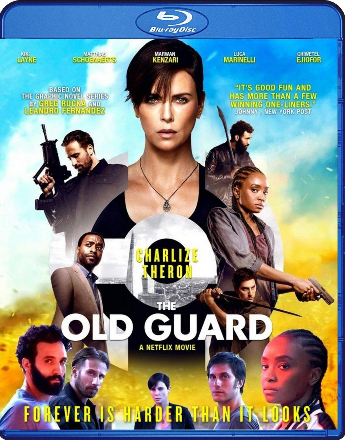 The Old Guard Blu-Ray Netflix
