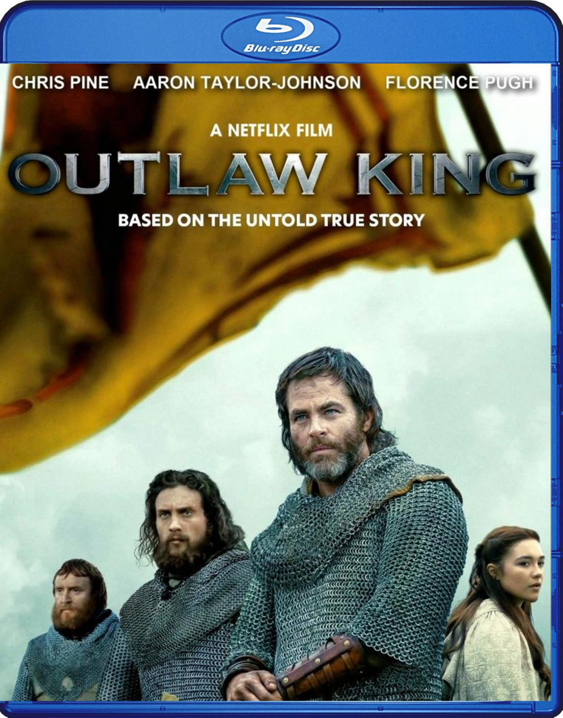 Outlaw King Blu-Ray Netflix