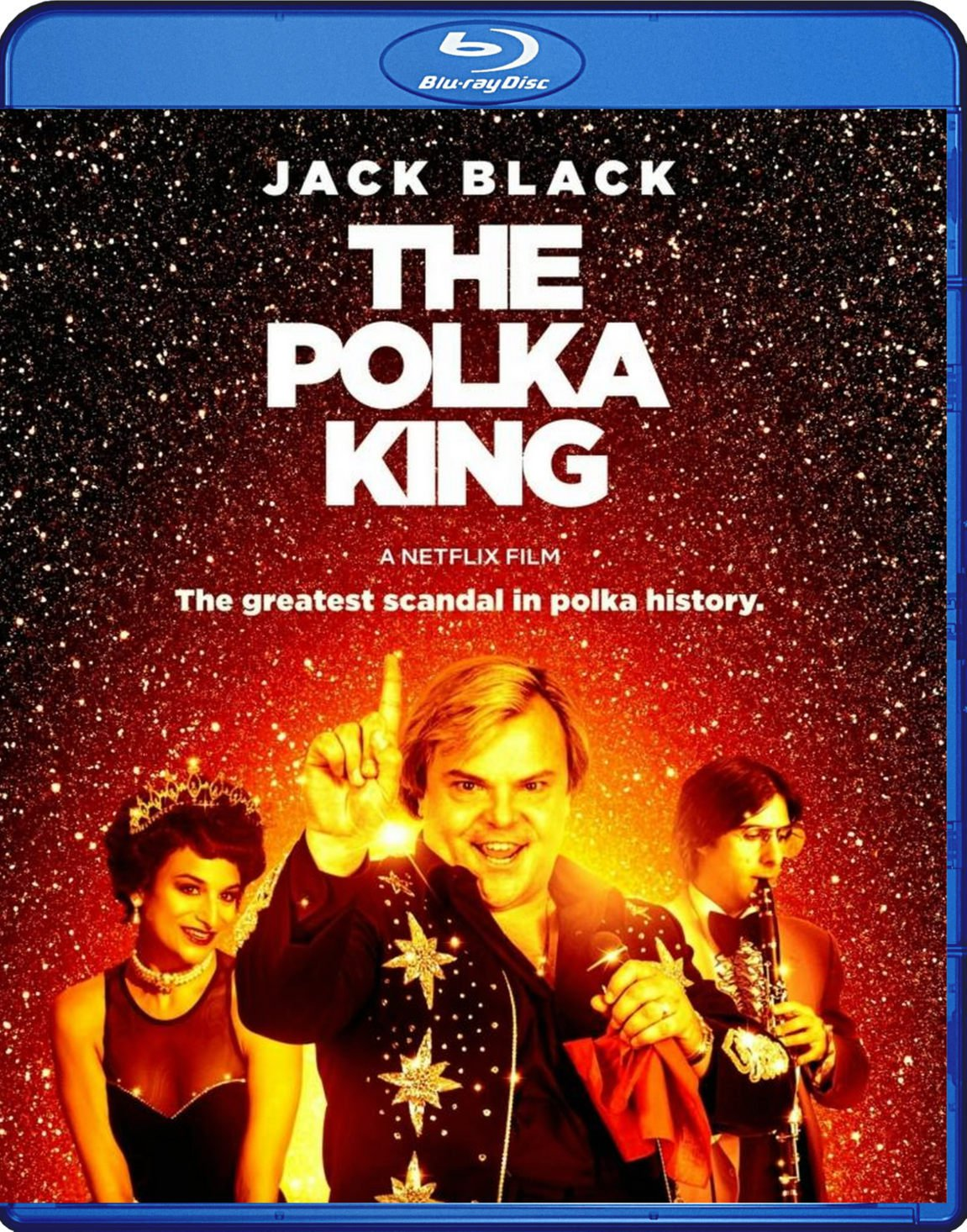 The Polka King Blu-Ray Netflix