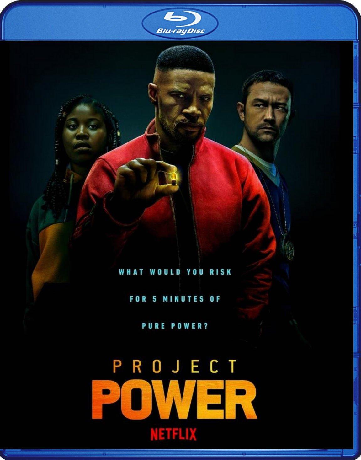 Project Power Blu-Ray Netflix