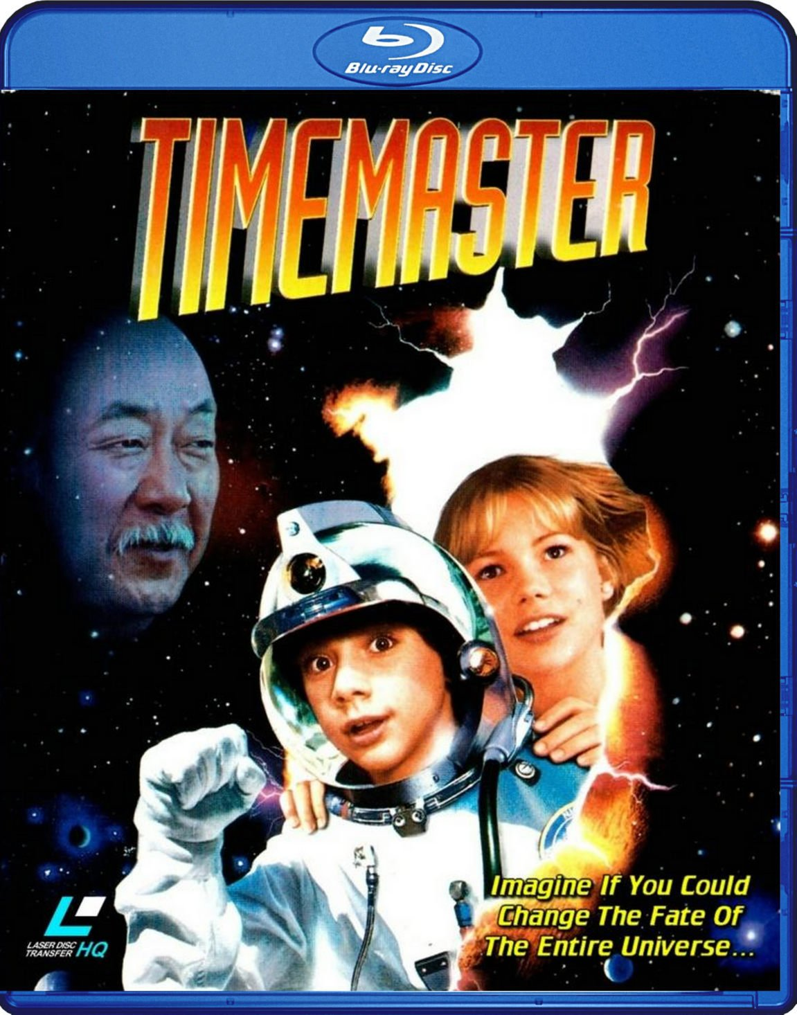 Timemaster Blu-Ray (1995) Transferred from Lazerdisc to Blu-Ray