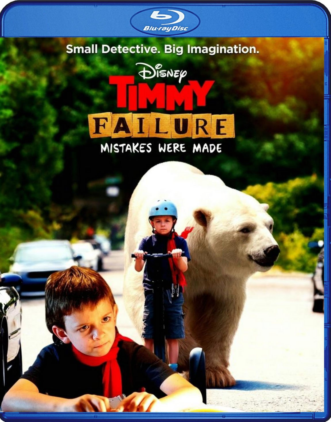Timmy Failure Mistakes Were Made Blu-Ray Disney