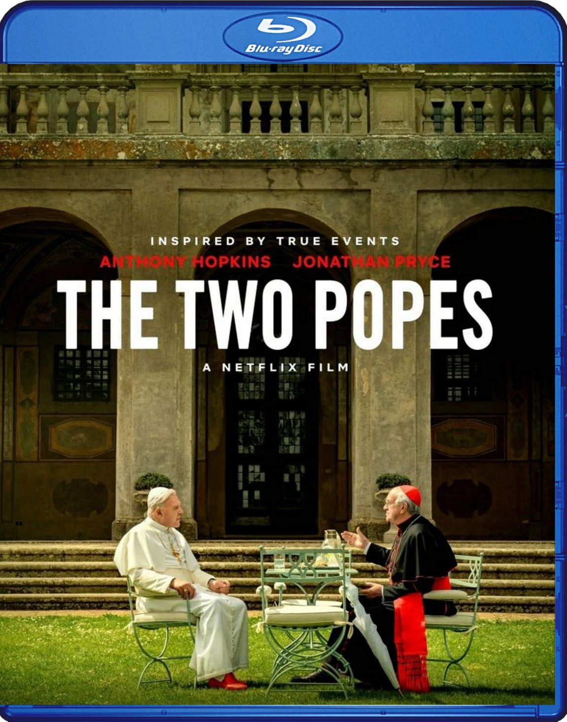 The Two Popes Blu-Ray Netflix