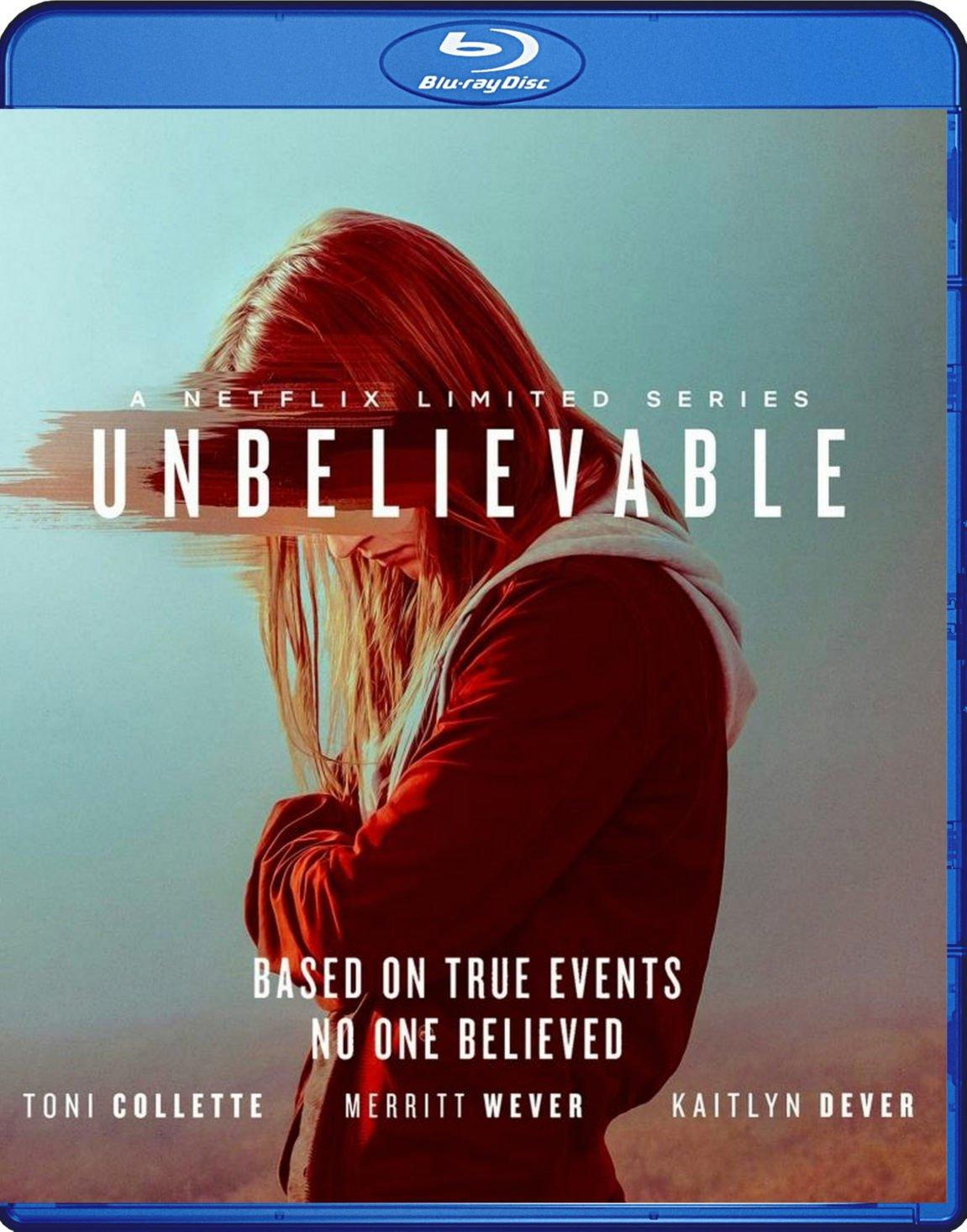 Unbelievable Complete Season Blu-Ray 2BD set Netflix TV Series