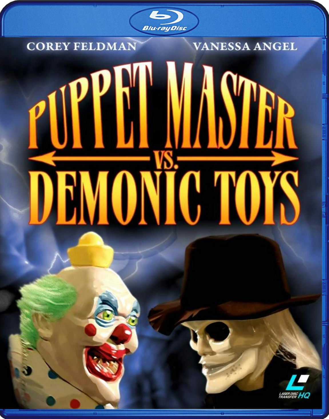 Puppet Master Vs. Demonic Toys Blu-Ray (2004) Transferred from Lazerdisc to BD