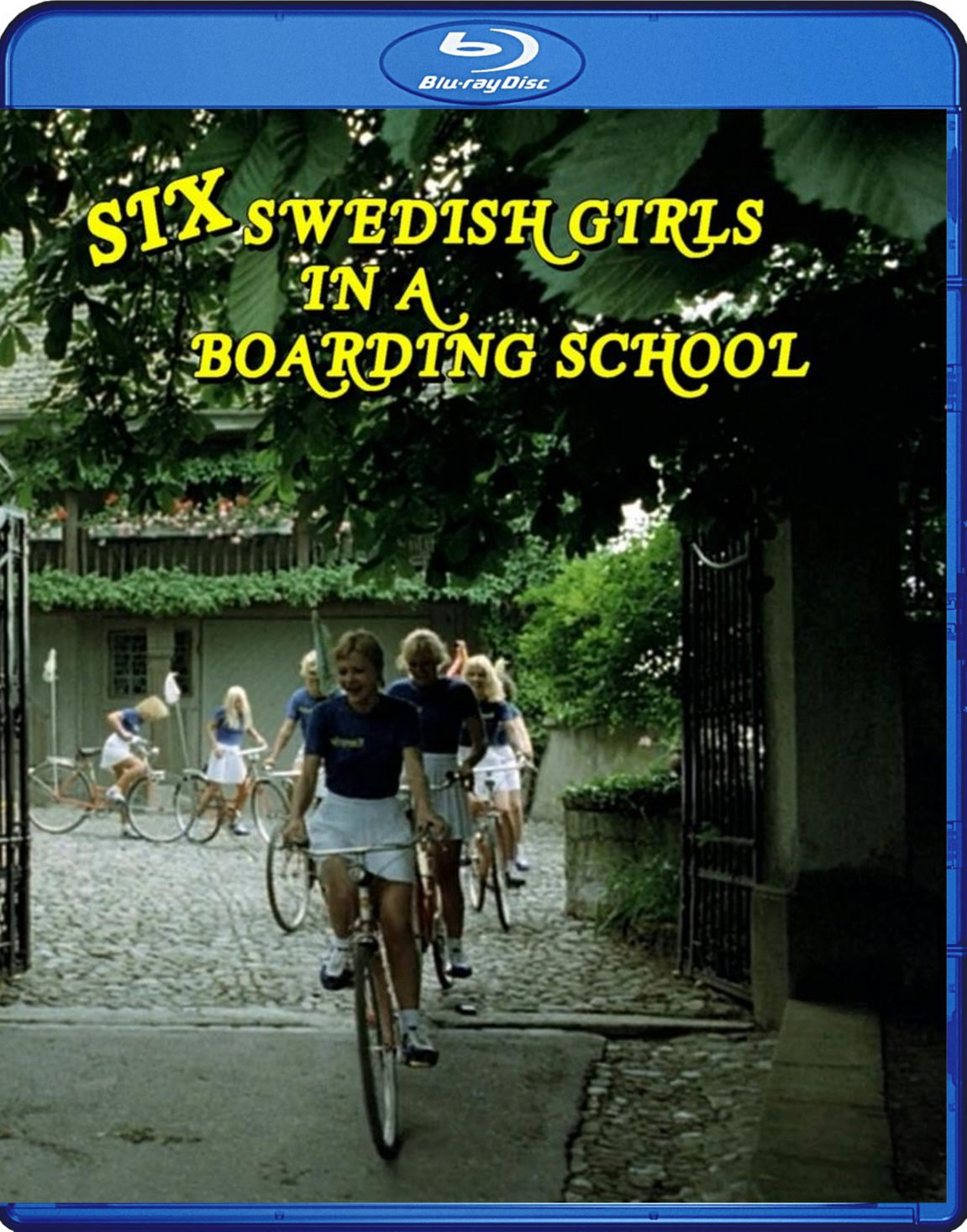 Six Swedish Girls In A Boarding School Blu-Ray (6 Schwedinnen Im Pensionat) Erotic