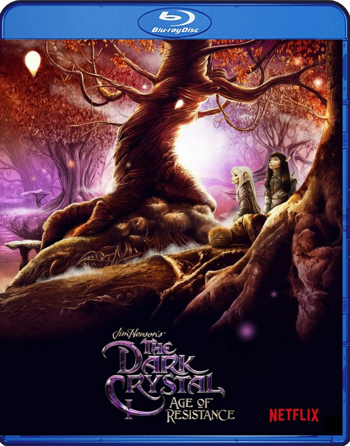 The Dark Crystal Age Of Resistance Blu-Ray Netflix TV Series