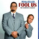 Penn & Teller Fool Us 2 Season Blu-Ray 2BD set TV Shows Magic