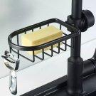 Adjustable Faucet Drainage Bathroom Shelf Shower Storage Holder Basket Kitchen Sundries Storage Rack