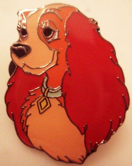 Disney Propin pin LADY PUPPY ($3 flat shipping up to 5 pins)