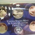 2005 US Mint State Quarters Proof Set (5 coins)