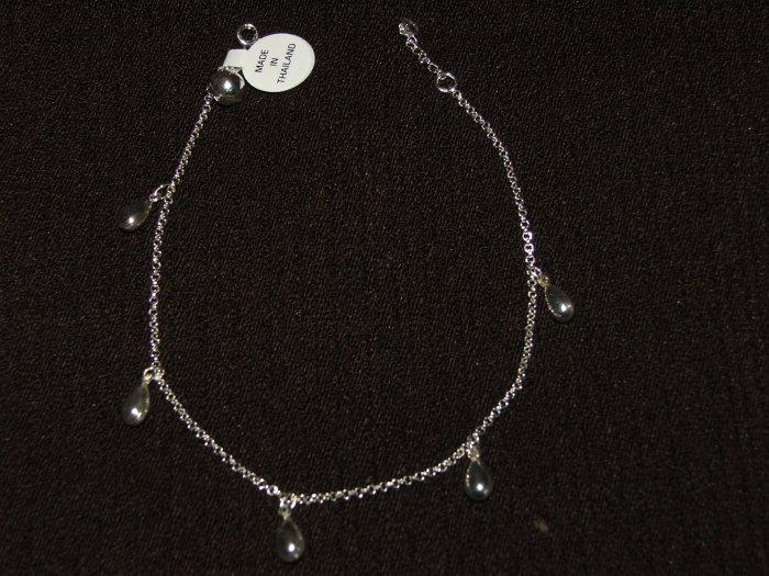 Silver Anklet - 5860