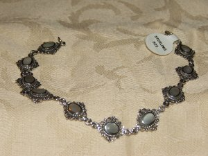 Mother of pearl silver bracelet - 5466