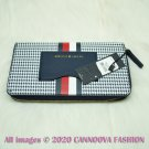 TOMMY HILFIGER Houndstooth Zip Wallet Purse (69J2178 410) Wallet Perfect Gift