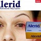 Alerid Cetirizine 10mg tablets 10 * 10