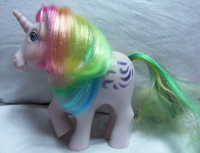 Vintage Unicorn My Little Pony - Windy - 1983 MLP GREAT  www.rootbeer.ecrater.com