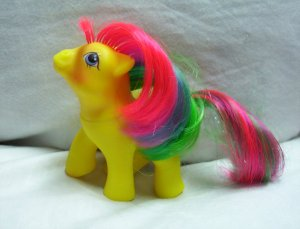 Vintage Baby Tic Tac Toe My Little Earth Pony 1987 EXC!  www.rootbeer.ecrater.com