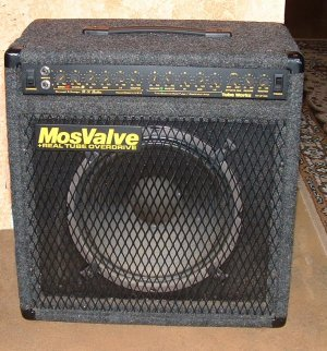 Mosvalve RT-2100 Electric Guitar Amplifier  Tube Works USA