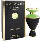 Bvlgari Le Gemme Imperiali Splendia Perfume Eau De Parfum 3.4 oz Spray.