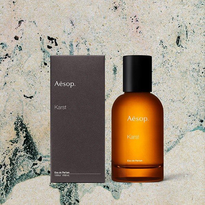 Aesop Karst Perfume Eau de Parfum 1.6 oz Spray.
