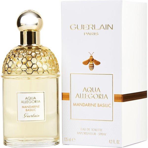 Guerlain Aqua Allegoria Mandarine Basilic Eau de Toilette 4.0 oz Spray.