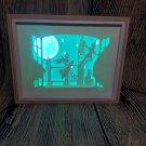 PETER PAN 1 inspired papercut shadow box, night light digital templet, svg, pdf, scut5