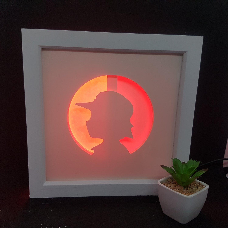POKEMON 2 inspired papercut shadow box, night light digital templet, svg, pdf, scut5