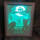 PAW PATROL  inspired papercut shadow box, night light digital templet, svg, pdf, scut5
