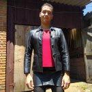 Leather Shirt and Skirt