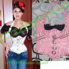 Halter Leather corset