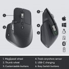 Logitech MX Master 3 Advanced Wireless Mouse  Graphite