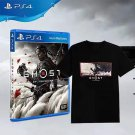 Official SONY PS4 PlayStation4 Game Ghost of Tsushima Artwork Black  limited edition