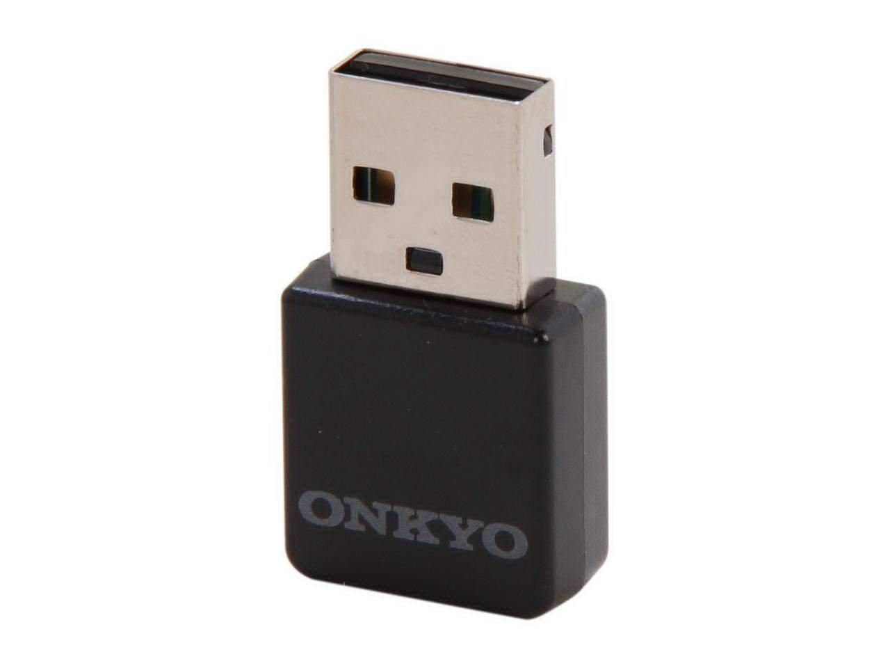 Onkyo UWF-1 IEEE 802.11n USB Wi-Fi Wireless LAN Receiver Amplifier Adapter Black