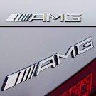 OEM Genuine New Mercedes-Benz A 222 817 04 15 AMG Logo Rear Badge Emblem C CLK SLK SL E CLASS