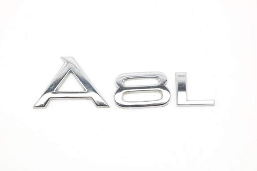 OEM Genuine New AUDI 4N0071803A A8L Logo Rear Badge Emblem