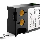 Dymo XTL300 XTL500 1868753 XTL All-Purpose Vinyl 24mm Black on White SAP1879039