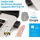 PC Fingerprint Scanner Laptop Security Key Computer USB Interface Reader Sensor Office Windows 10