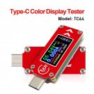New RD TC64 Type-C USB Tester Voltage Current Meter Quick PD Charger Testing Monitor 77UC