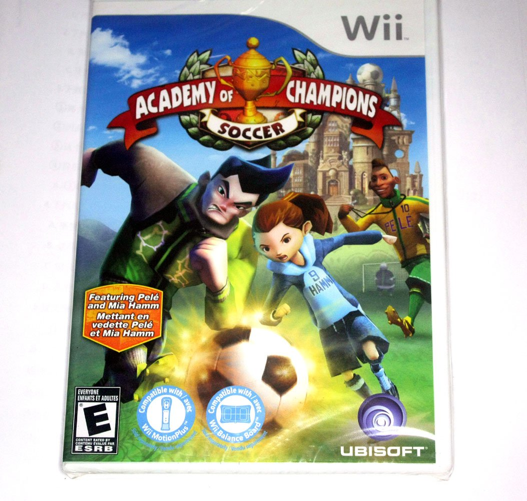 Brand New Sealed Academy of Champions: Soccer Game(Nintendo Wii, 2009)US Version