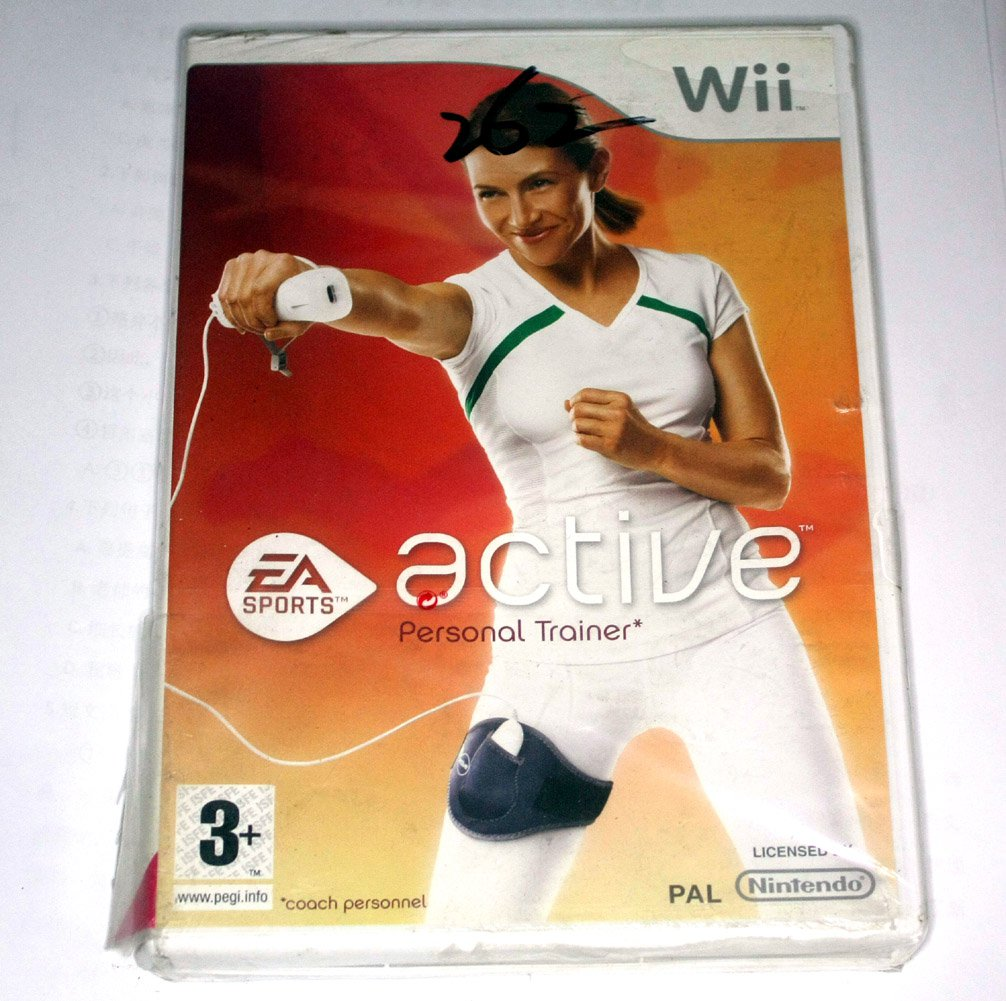 Brand New Sealed Wii Active Personal Trainer Game(Nintendo Wii ,2009)Euro Version