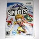 Brand New Sealed Mountain Sports Game(Nintendo Wii, 2009)US Version