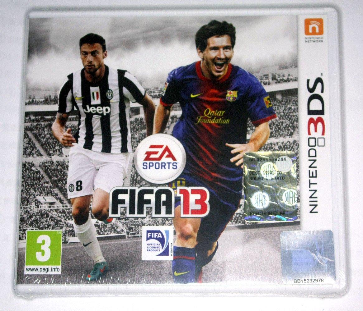 Brand New Sealed FIFA Soccer 13 2013 Game(Nintendo 3DS, 2012) Euro Versione Italiana
