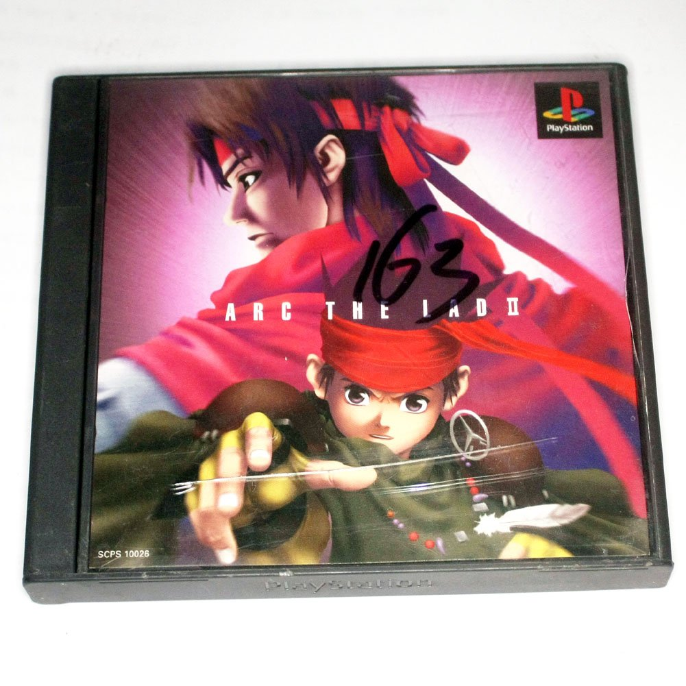 Used Arc the Lad II(Sony PlayStation 1 PS1)(Japan)