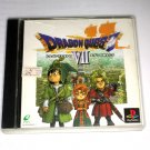 Used Dragon Quest VII: Fragments of the Forgotten Past (Sony PlayStation 1 PS1)(Japan)