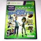 Kinect Sports Season Two 2 (Microsoft Xbox 360) Brand New & Sealed
