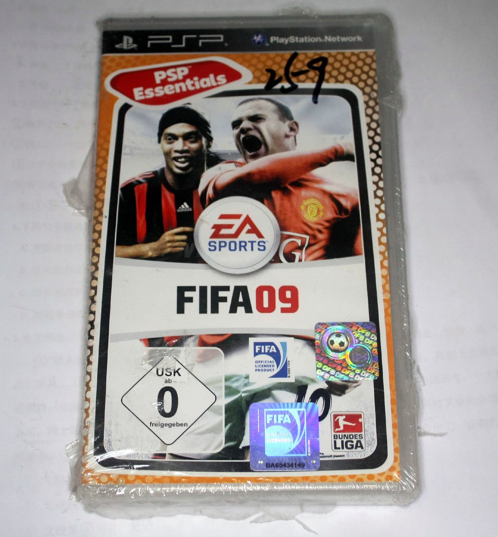 SEALED BRAND NEW FIF09 SOCCER09 FOOTBALL(SONY Playstation Portable PSP Game)