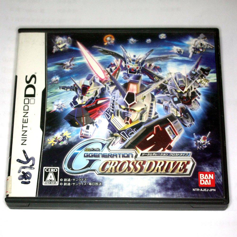 Used SD Gundam G Generation: Cross Drive(Nintendo DS NDS Game)Japan Version
