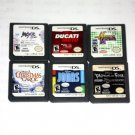 6 Game in 1 (Nintendo DS NDS Game) US Version
